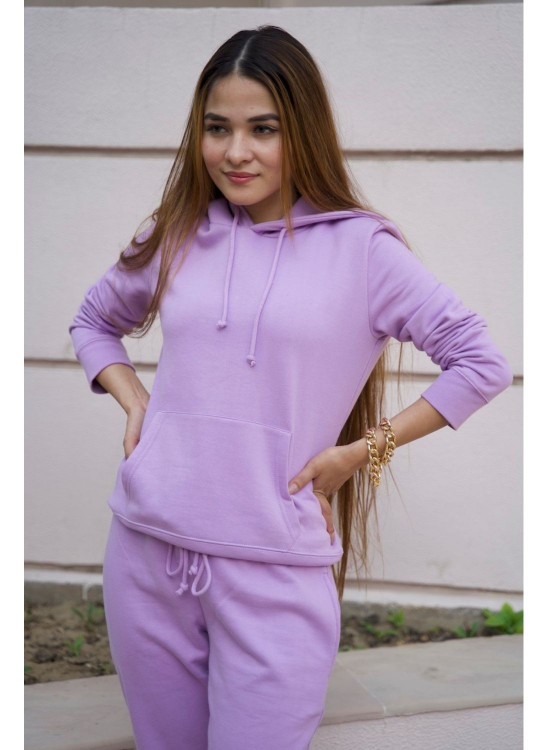 Hoodie and Jogger set-Lilac